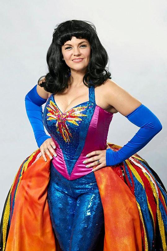 Marta jako Katy Perry