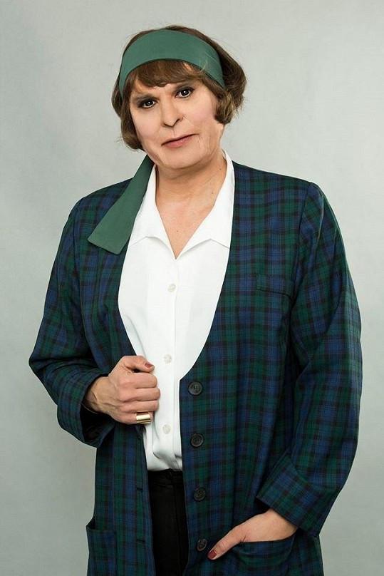 Petr Rychlý jako Hana Hegerová