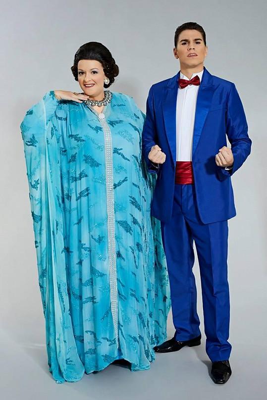 Jitka Boho jako Montserrat Caballé a David Gránský jako Freddie Mercury