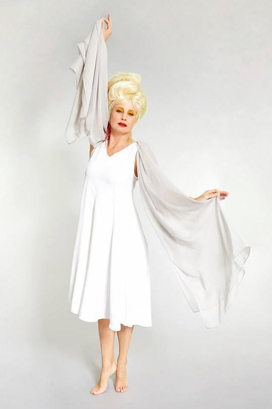 Jitka Schneiderová jako Cyndi Lauper