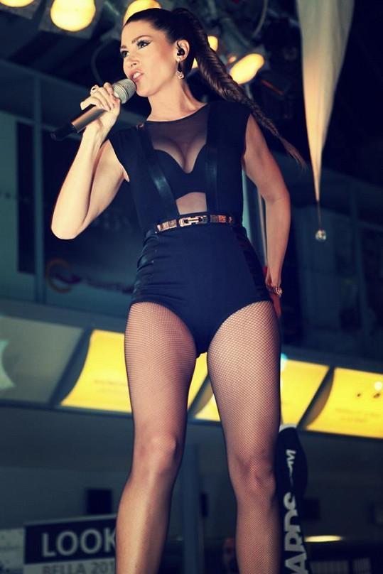 Tereza patří k našim nejkrásnějším zpěvačkám.