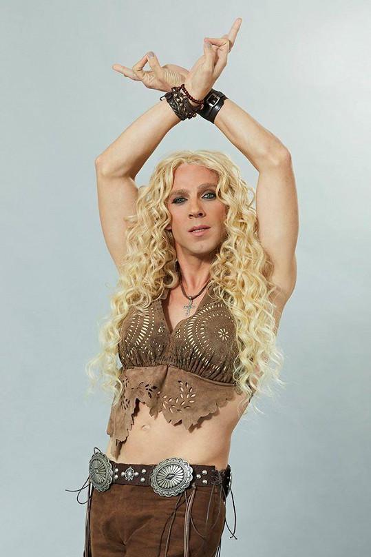 Roman Vojtek jako Shakira