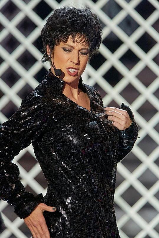 Aneta Krejčíková jako legendární Liza Minnelli