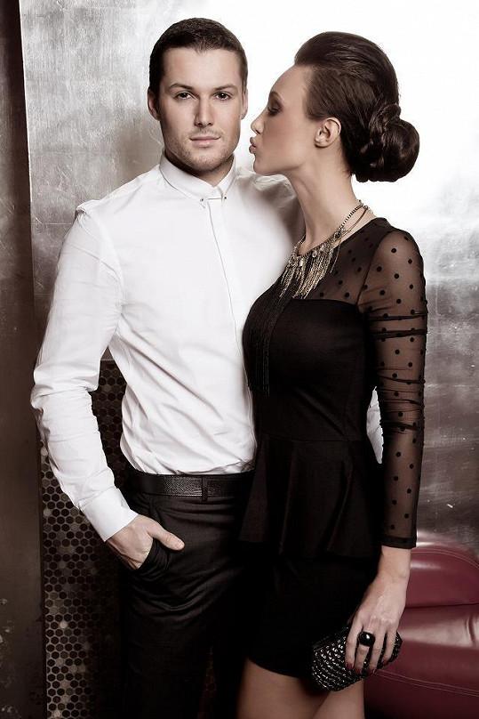 Bahenský a Makarenko fotili kampaň na elektronickou cigaretu.