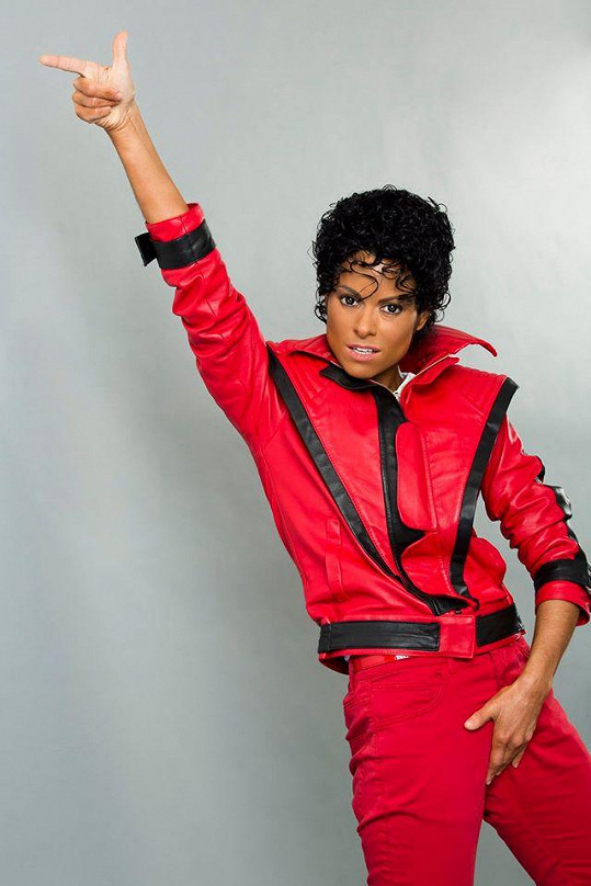 Michael Jackson v podání Hany Holišové