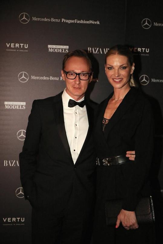 Pavlína dorazila na galavečeři pořádanou magazínem Harper's Bazaar v doprovodu Pavla Mahdala.