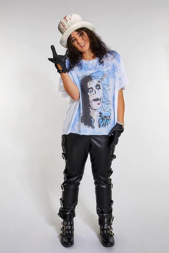 Tereza Mašková jako Alice Cooper