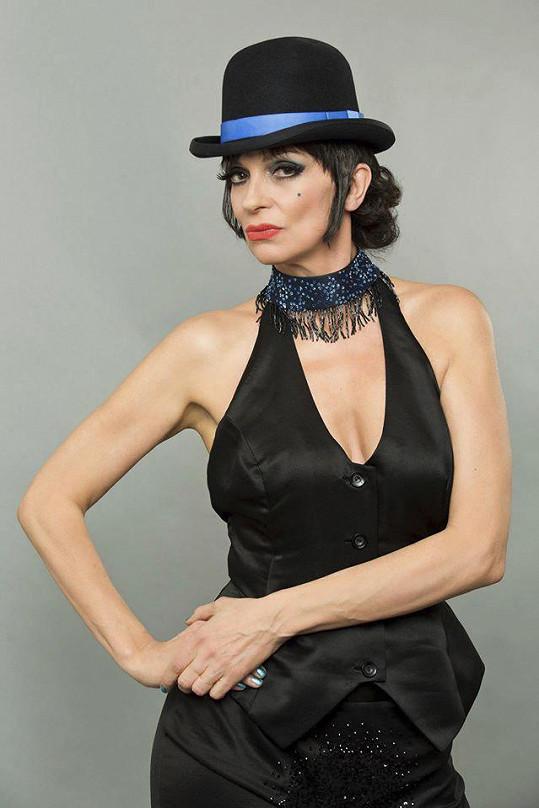 Ivana Chýlková jako Liza Minnelli