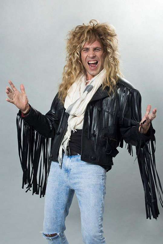 Roman Vojtek jako Jon Bon Jovi