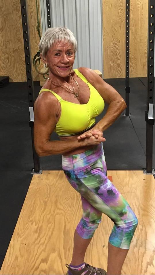 Iris Davis cvičení pomohlo zbavit se depresí.