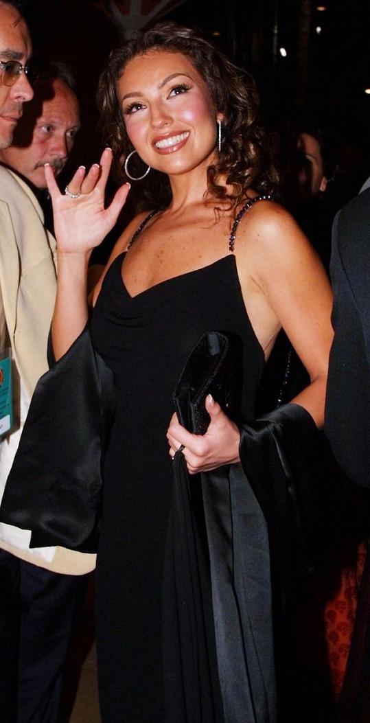 Thalía na archivním snímku