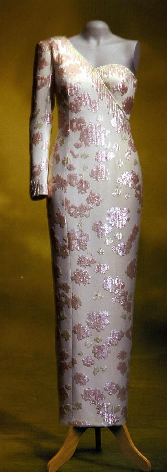 Šaty princezny Diany.