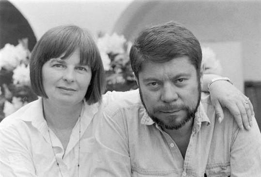 Martin Štěpánek s manželkou Jaroslavou Tvrzníkovou na archivní fotografii.