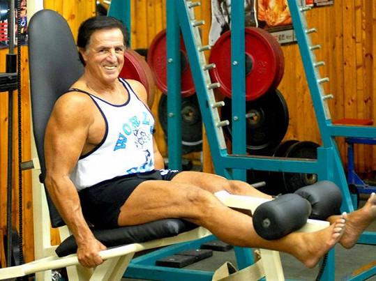 Juraj má i po sedmdesátce skvělou kondičku.