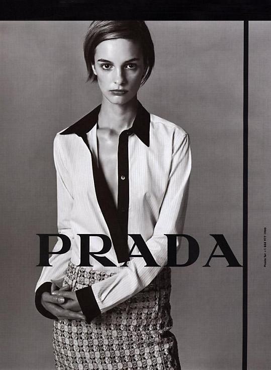 V kampani italského módního domu Prada