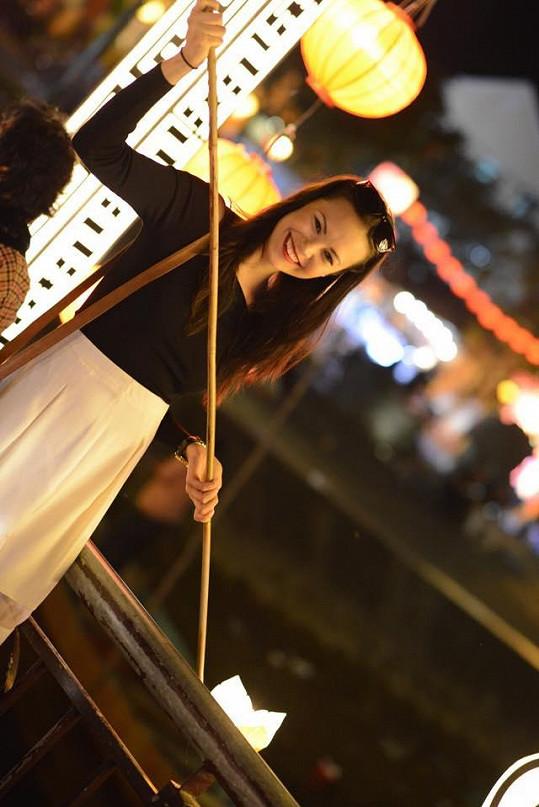 Monika ve Vietnamu přivítala nový lunární rok.