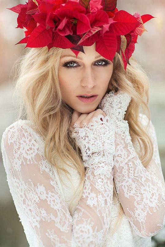 Veronika Kašáková je velmi krásná.