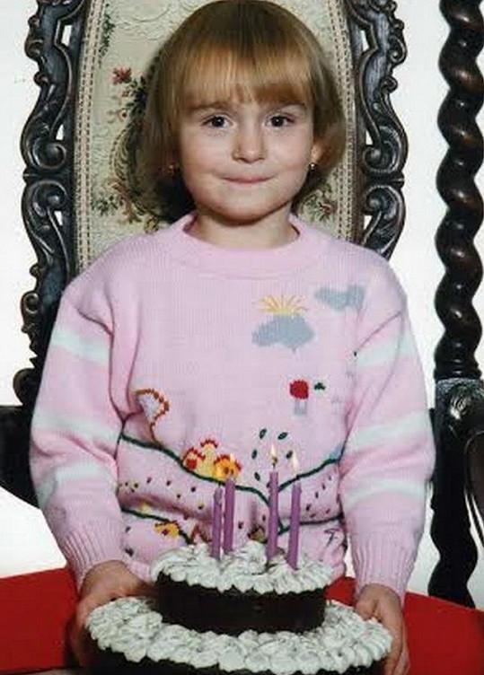 Eva ve čtyřech letech