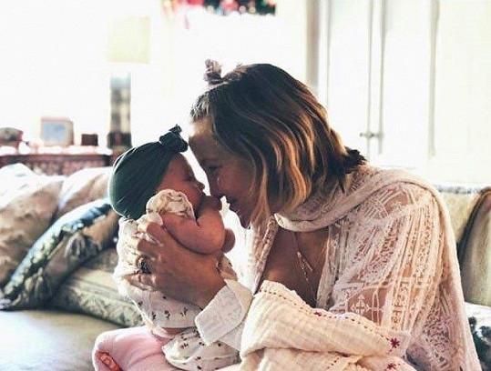 Kate Hudson zapózovala s dcerkou Rani.