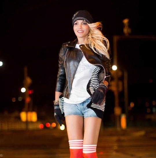 Pro focení s Darou byla inspirací americká kampaň stejné značky s rapperkou Nicki Minaj.