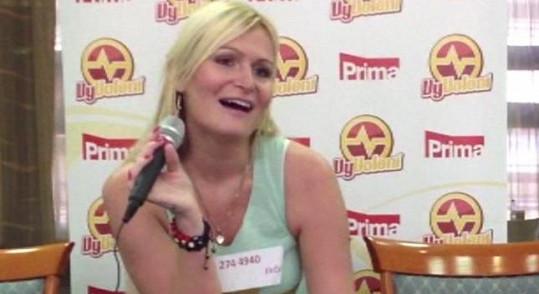 Eva Feuereislová na castingu do VyVolených