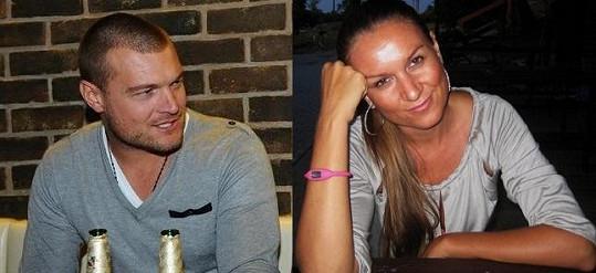 Martin Černý a (ex)milenka Simona.
