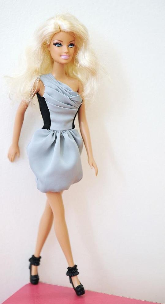 Tak vypadá Barbie v modelu Ivany Mentlové.