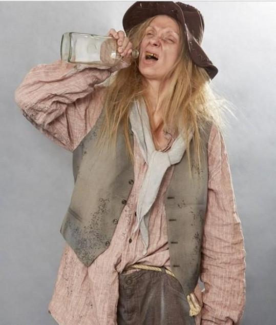 Ivana Chýlková jako Cotton Eye Joe z Rednex