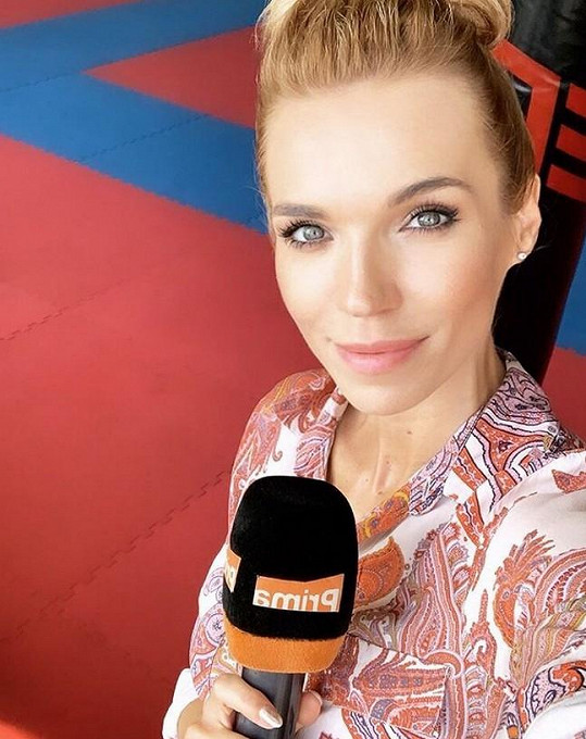 Modelka a moderátorka bude novou reportérkou TopStaru.