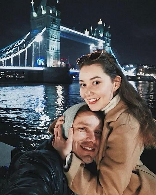 Rojková a Callta si vyrazili na romantický výlet.