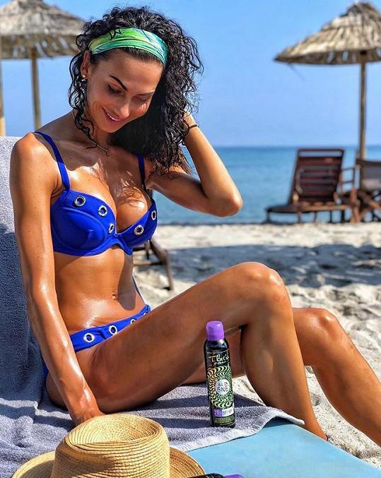 Bučková odjela na dovolenou do Řecka.
