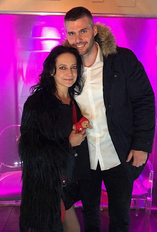 Lucie Bílá a její nový přítel Radek