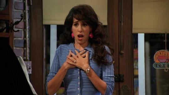 Maggie ve své nejznámější roli Janice v Přátelích