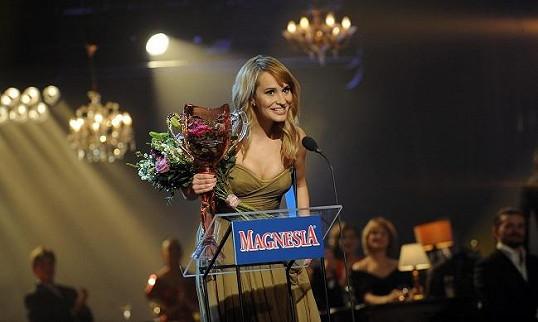Monika dostala cenu Thálie za představení Funny Girl.