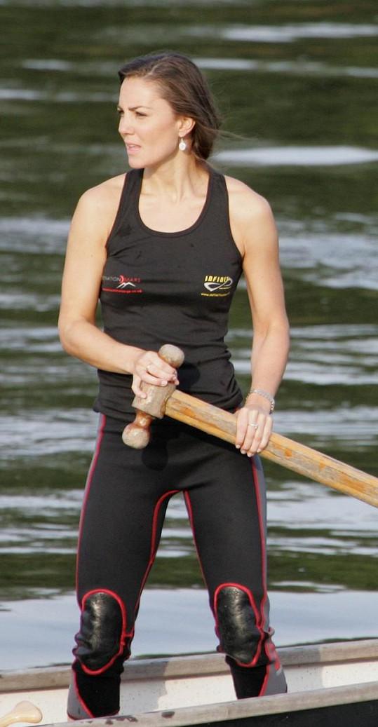 Kate jako sportovkyně