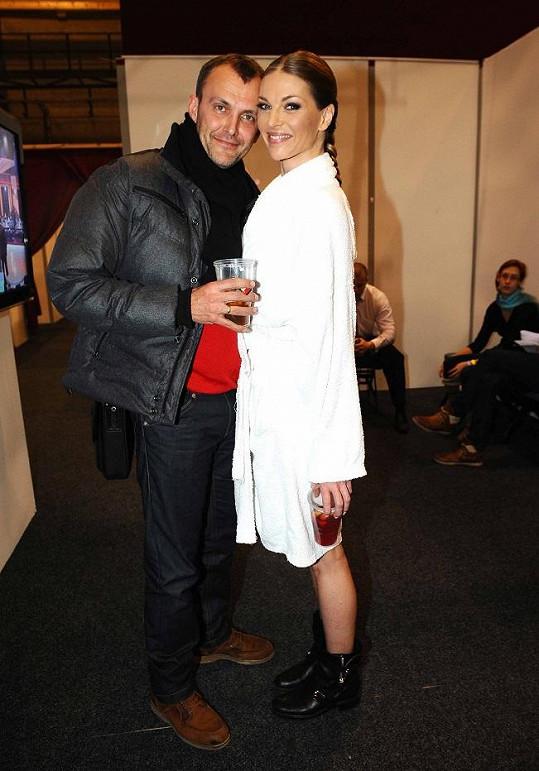 Pavlína Němcová s Janem Tománkem.