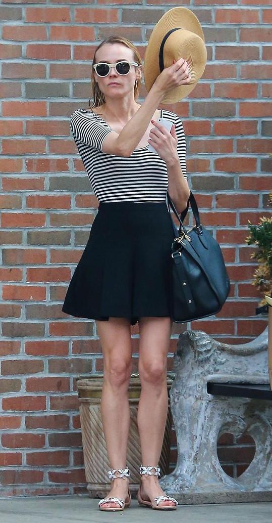 Poznali byste německou herečku a bývalou modelku Diane Kruger?