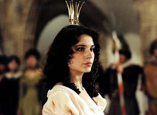 Míša Kuklová jako princezna Jasněnka v pohádce O princezně Jasněnce a létajícím ševci