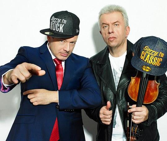 Michal Dvořák a Jaroslav Svěcený s projektem Vivaldiano