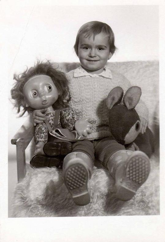 Eva Feuereislová jako malá holka