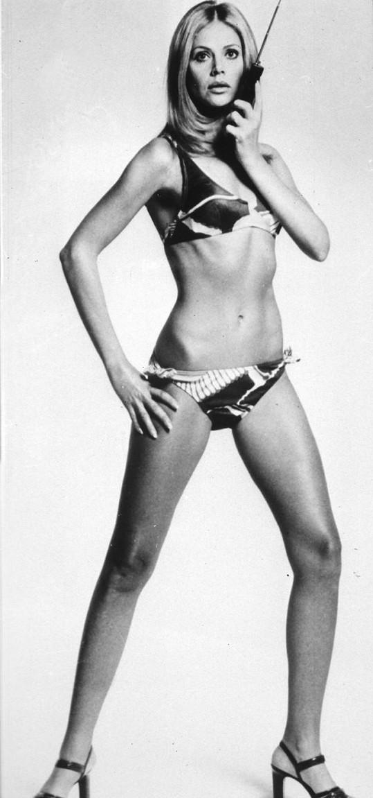Britt patří k nejžavějším milenkám Jamese Bonda.