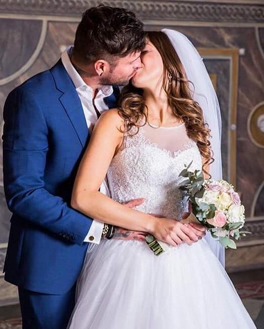 Aneta s manželem Ondřejem