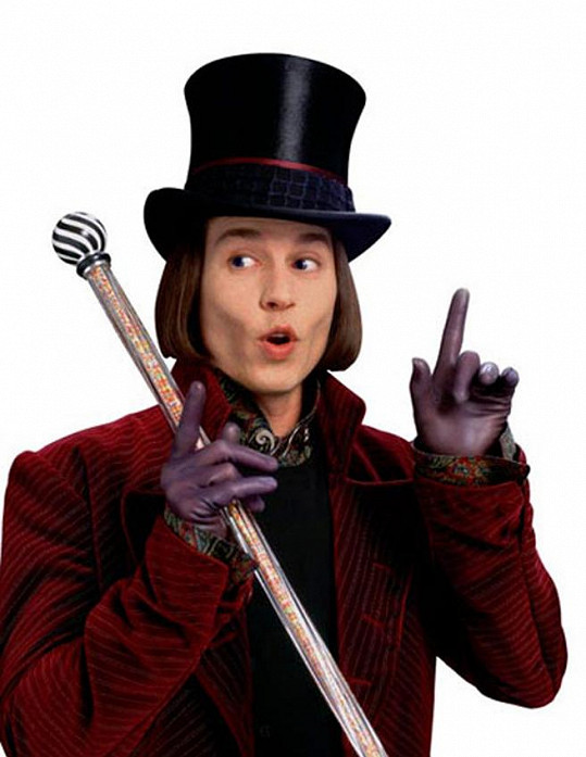 Dalším Wonkou byl Johnny Depp ve filmu Karlík a továrna na čokoládu.