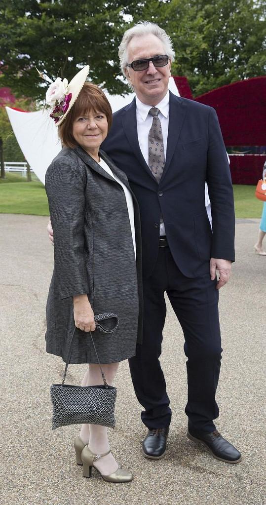 S Rimou Horton Alan Rickman strávil téměř celý život.