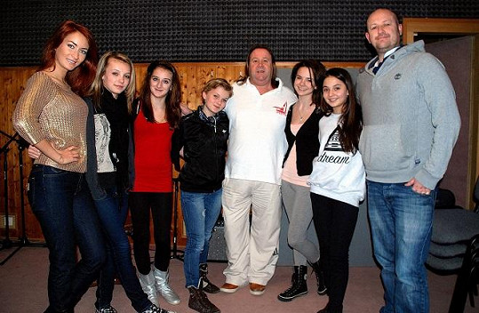 Světoznámí producenti Denis Ingoldsby a Andy Murray přijeli za 5 Angels do Prahy.