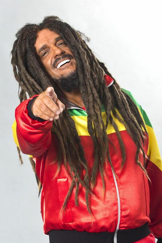 Miroslav Etzler jako Bob Marley