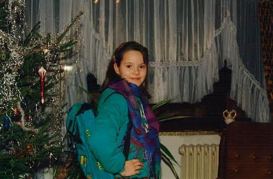 Renáta Czadernová byla usměvavá školačka.