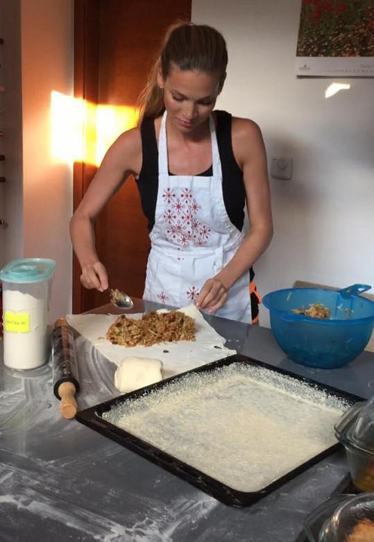 Andrea Verešová ráda peče.
