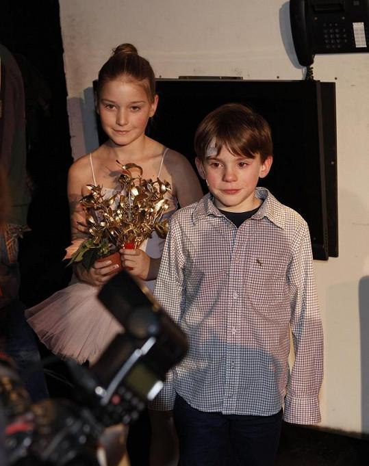 Filip Antonio je velká dětská hvězda.