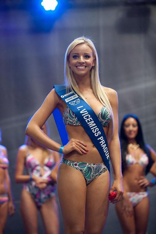 Vicemiss festivalu Andrea Březovičová se stala Miss léta.